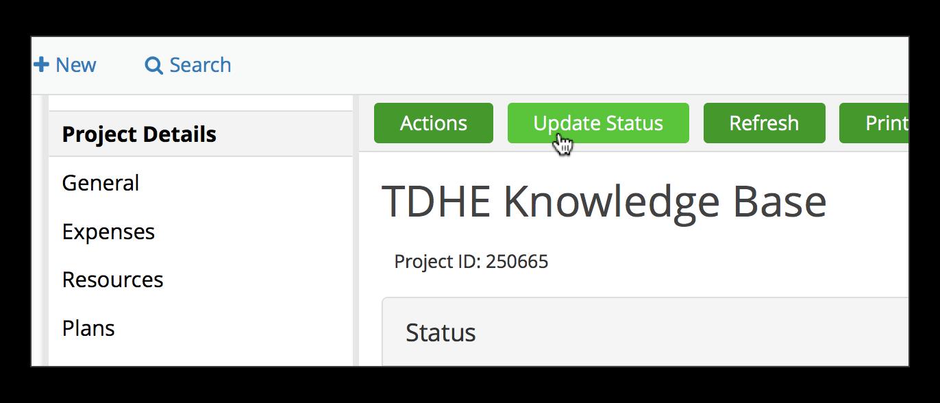 TDX project details