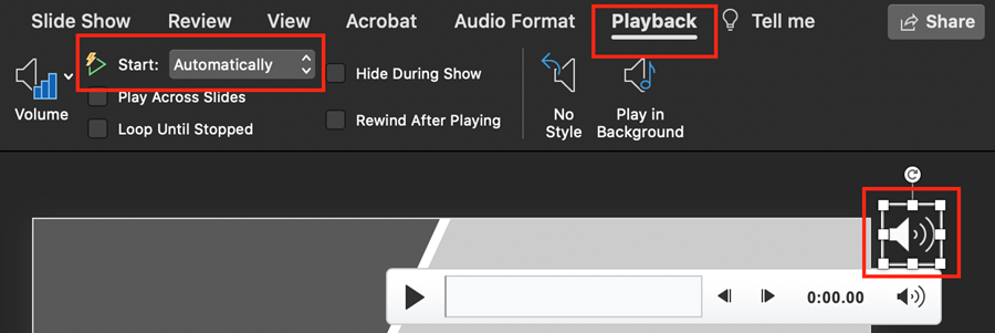 Start Audio Automatically